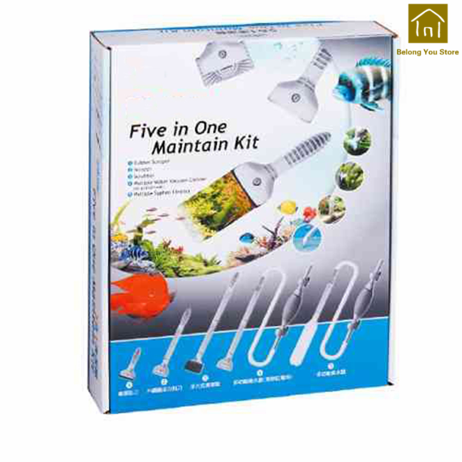 Durable Safe Soft Rubber Fish Tank Scraper Blade Fish Tank Cleaner Brush Fish Tanks Hochwertige Squeegee Pets Tools WKT010