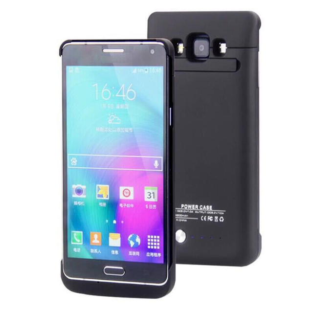 dc9f5f174 for Samsung Galaxy A7 External Battery Charger Case Rechargeable Battery  Portable 4200mAh Power Bank Case
