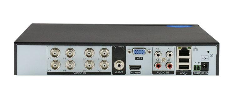 8CH vigilancia híbrido AHD 11