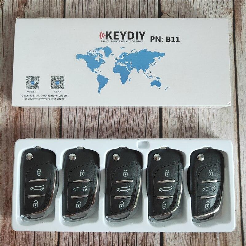 5 PCS/LOT KD télécommande B11 3 boutons télécommande série B pour URG200 KD-X2 KD900 KD200 KD-X2 programmeur de clé