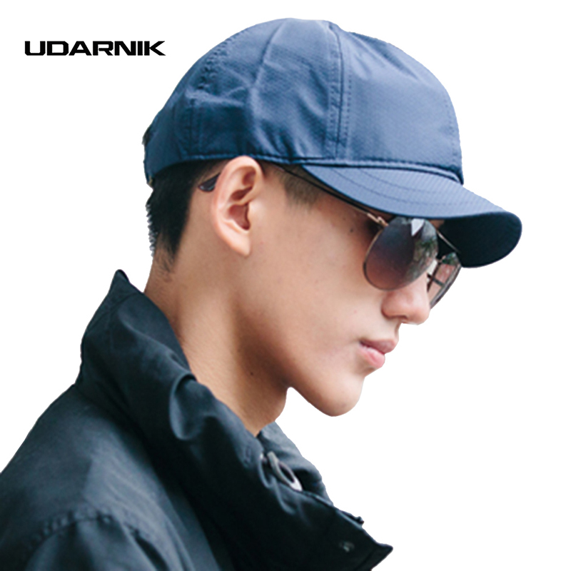 Men Baseball Cap Golf Trucker Hats 5 Colors Casual Adjustable Solid Travel Vintage Fashion New Streetwear Summer Caps 904-614