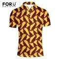 FORUDESIGNS Polo Shirt Top Quality Fashion Men Short Sleeve Turn-down Collar Polos Hombre Men's Casual Loose African Print POLO