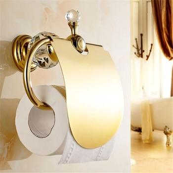 Support Papier Toilette Or