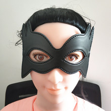 Adult games Sex Toys for Woman Couples Sexy Bdsm Bondage Eye Mask Masquerade Prom Party Patch Catwoman Mask Menottes pour lesexe