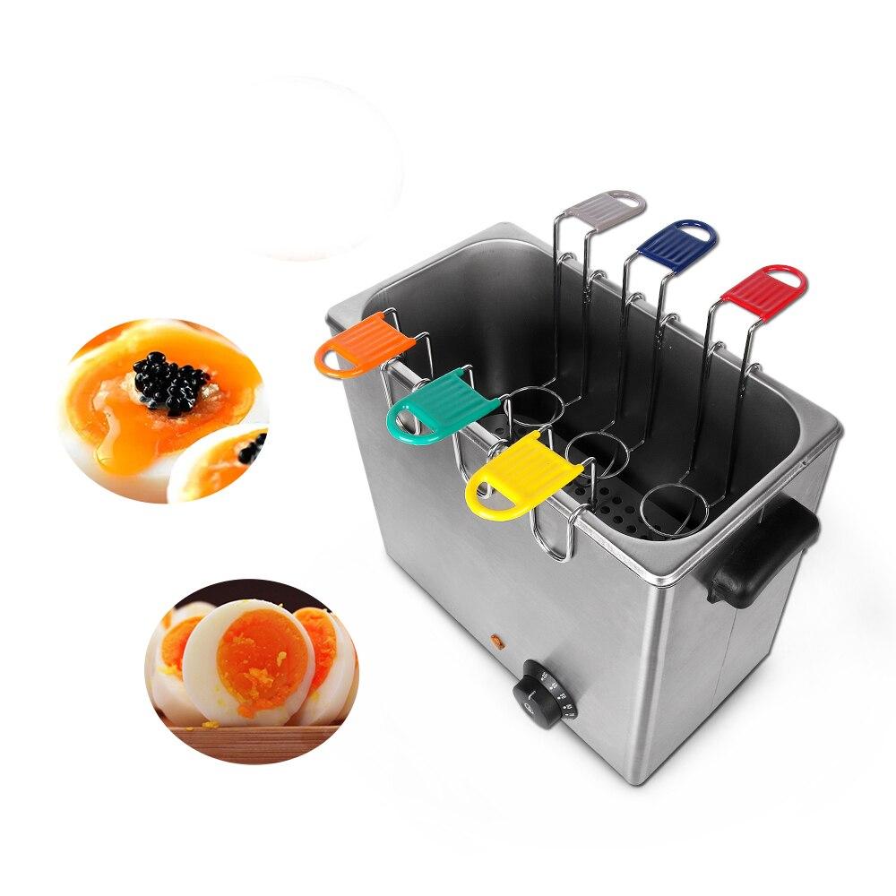Chaudière à oeufs électrique professionnelle 2600 W cuiseur à oeufs environ 30 oeufs capacité cuisine Machine de cuisson avec cadeau gratuit 6 paniers à oeufs