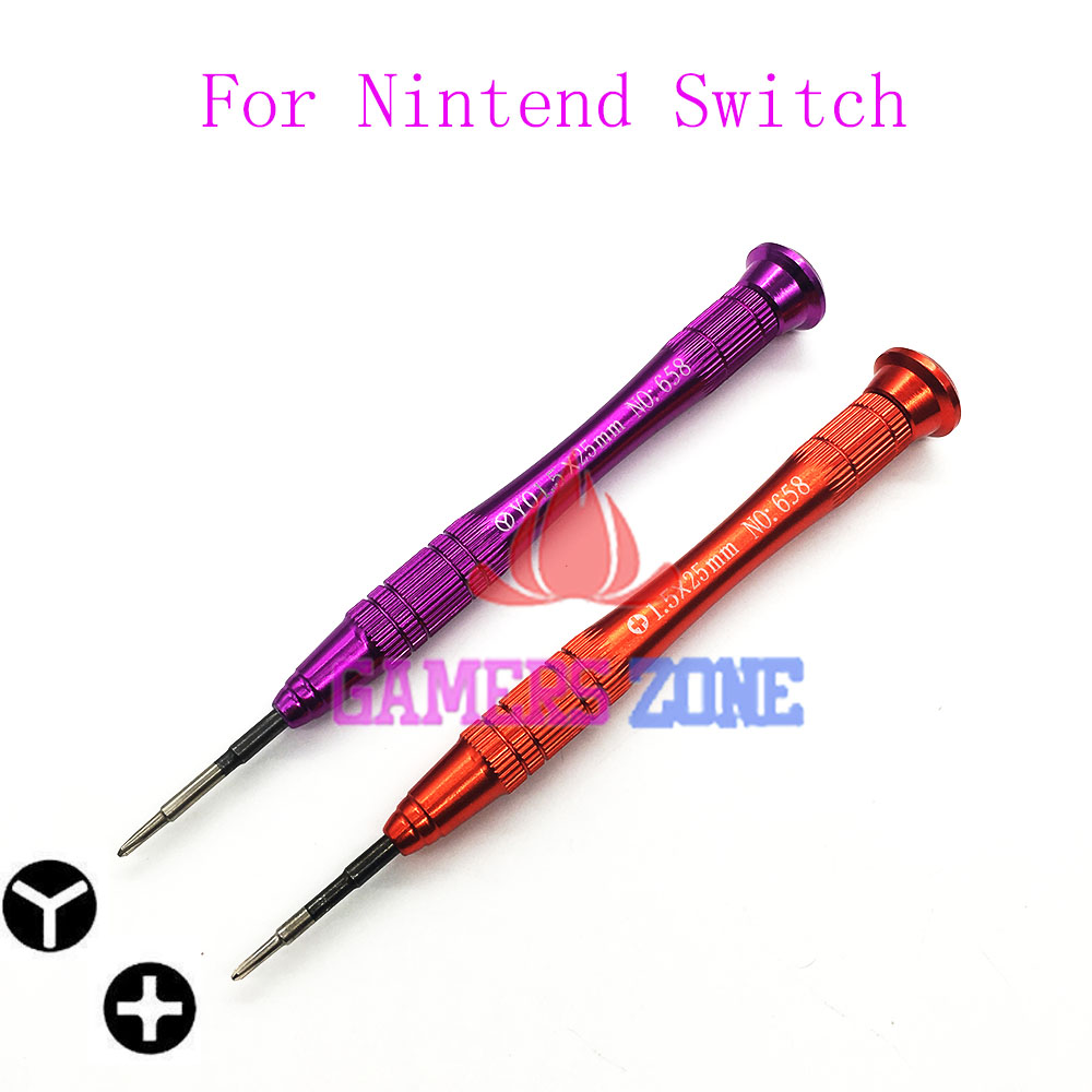 US $3 63 9% OFF|For Nintendo Switch Cross Tri 1 5MM Wing Screwdriver  Tweezer Signal Sponge For Switch Joy Con Screwdriver-in Replacement Parts &