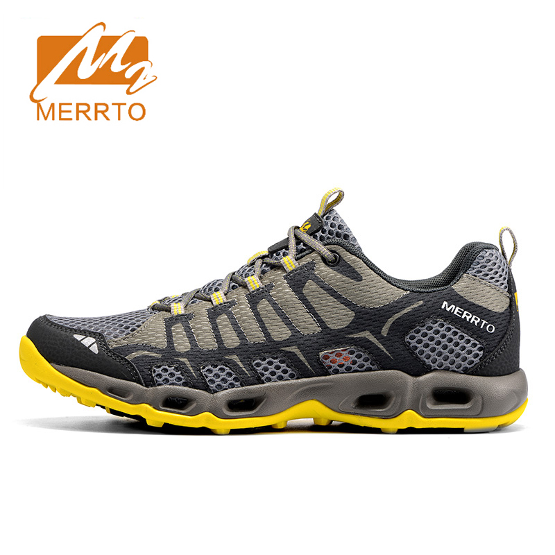 Merrto 2018 Mens Breathable Mesh Running Shoes Lightweight Trail Running Trainers Men Sports Shoes Outdoor Sports Sneaker Hombre