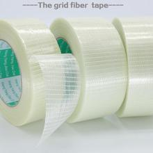 NOVFIX high temperature strong grid fiber tape 8-100 mm x 50 M Mold Home Appliance bundled fixed adhesive tape