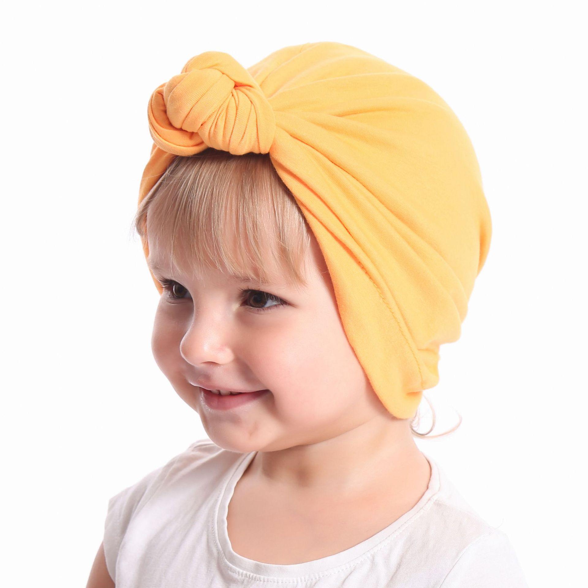 5ce5eae38 Gorro turbante para bebé con lazo gorro de algodón para niños Bebé  accesorios para el pelo Bebé headwrap Bebé accesorios para el pelo Bebé  accesorios para ...