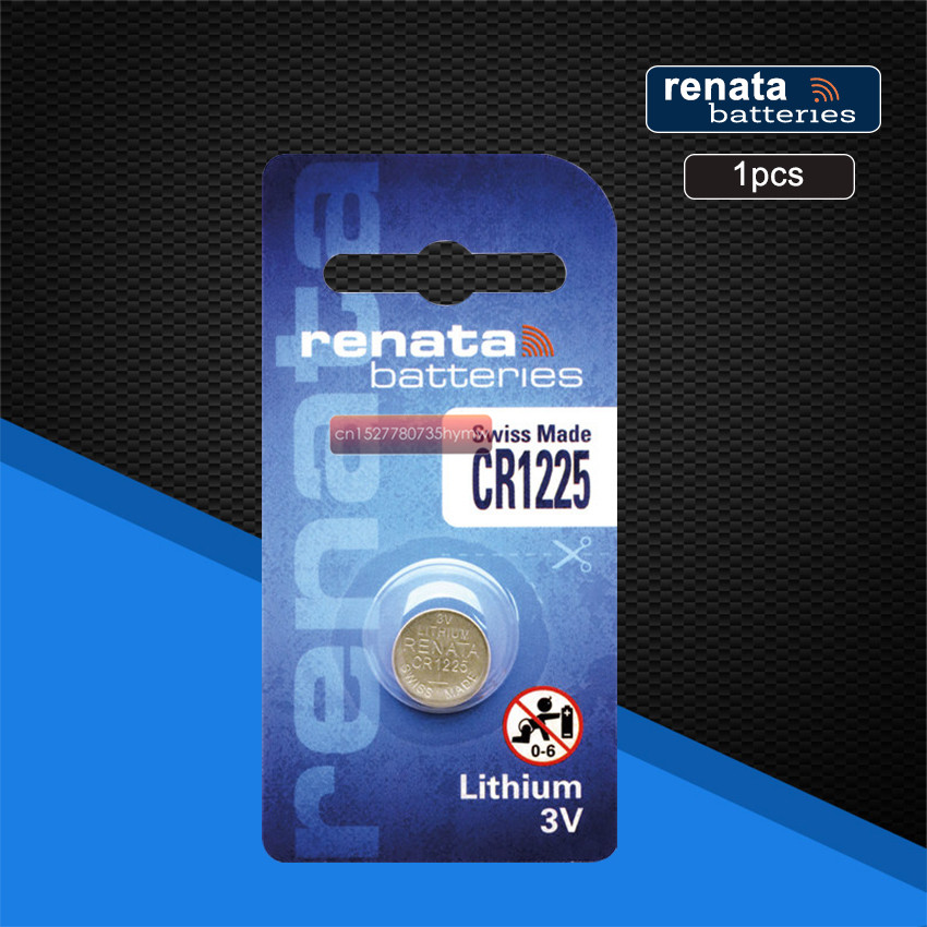 1pc renata lithium-<font><b>Batterie</b></font> <font><b>CR1225</b></font> 3V % 100 original marke renata 1225 <font><b>batterie</b></font> image