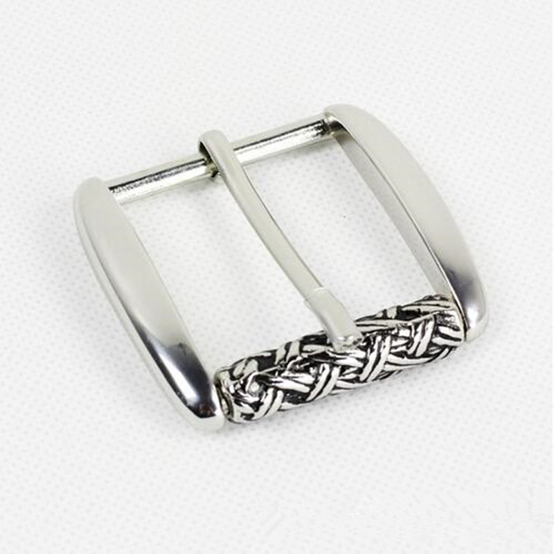 Retail Western Cowboy Bet Buckle High quality Solid Stainless Steel Buckles With Men Women Belt Accessories Fit 4cm Wideth Belt