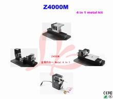 Z4000M all metal 4 in 1mini lathe kit 24W 20000rpm DIY metal machine kit 4 in1
