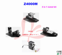 Z4000M all metal 4 in 1mini lathe kit/24W,20000rpm DIY metal machine kit/4 in1 mini lathe