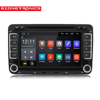 2 Din Android 7.1 Car Audio Car DVD Player GPS Radio For VW GOLF 6 Polo Bora JETTA B6 PASSAT Tiguan SKODA OCTAVIA Bluetooth USB