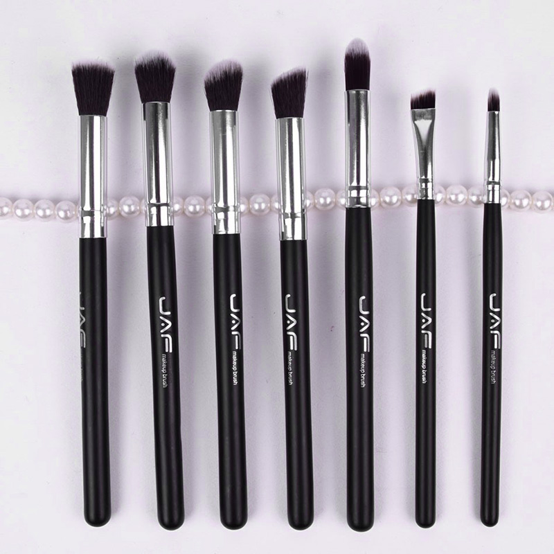 New Portable Makeup Brushes Eye Shadow Blending Brush Shading Smudge 7 Pcs / Set Professional Face Make Up Brush M03482 new mini portable make up brush set connectable type eye shadow brush with box eye shadow tools 4pcs set makeup cosmetic brushes