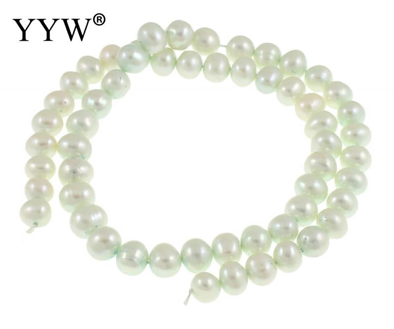 Smart Cultured Round Freshwater Pearl Beads Black Grade A 9-10mm Approx 0.8mm Sold Per Approx 14 Inch Strand For Diy Jewelry Making Beads Jewelry & Accessories