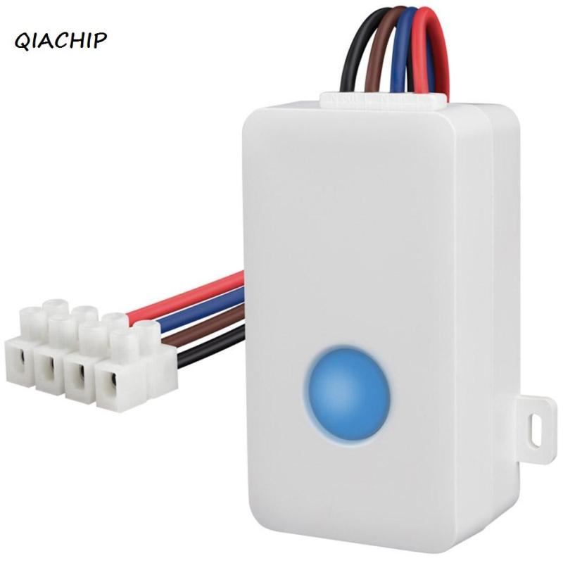 QIACHIP SC1 Smart Home Automation 2.4GHz Wireless Remote Controller smart phone wifi control light Switch for iphone Android H3 new ltech wifi ir rf universal intelligent remote smart home automation control for iphone ios android xiaolei wifi remote