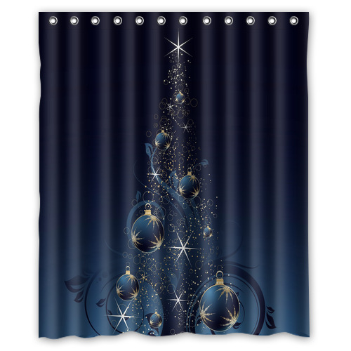 Online Get Cheap Christmas Shower Curtain Alibaba Group