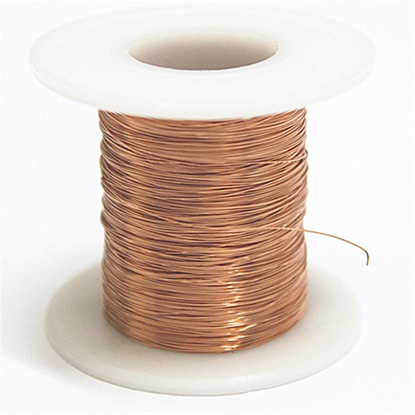 Free shipping 0.44mm * 350m / pcs  QA-1-155  2UEW  Polyurethane enameled Wire Copper Wire magnet wire free shipping 1 0 mm 68m pc qz 2 130 polyurethane enameled copper wire round copper wire