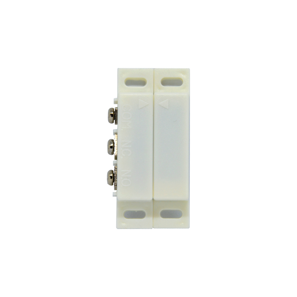 10 PCS Wired Plastic Magnetic switch Door Window Open detector NC NO optional output Alarm accessories Chest Lamp Sensor in Sensor Detector from Security Protection