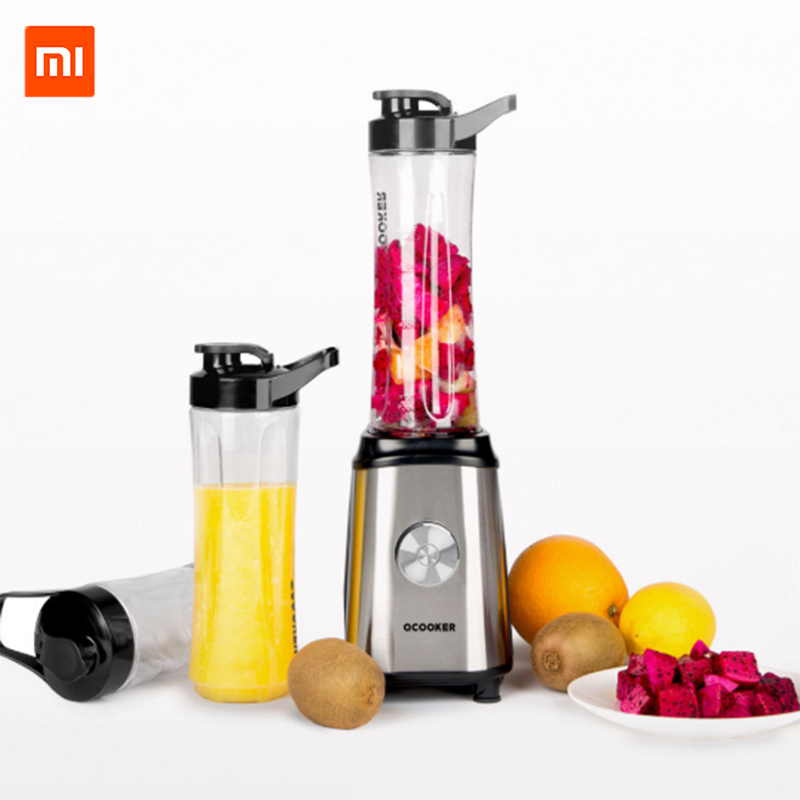 Original Xiaomi Ocooker Portable Fruit and Vegetable Cooking Machine Point Switch 304 Stainless Steel 8 Seconds Soup Machine xiaomi ocooker portable juicer baby fruit and vegetable cooking machine low noise cooling system dustproof design diy drinks