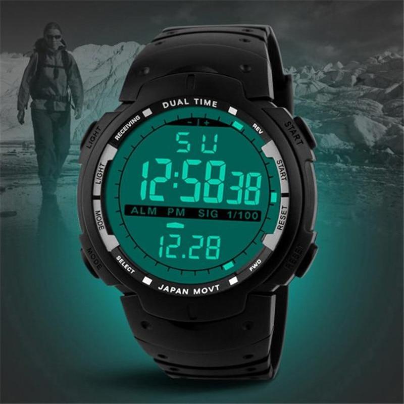 Gehoorzaam Sport Horloges Mannen Horloges Digitale En Kwarts Jongens Militaire Duiken Horlogeband Top Luxe Merk Fitness Horloge Complete Reeks Artikelen