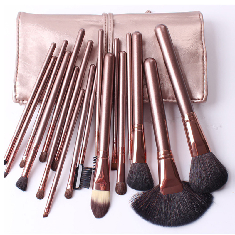 18pcs Professional Makeup Brushes Set Brand Foundation Power Blush Eye Shadow Eyeliner Lip Cosmetic Beauty Make Up Brush Tool