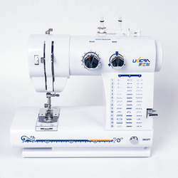 Mini Electric 18W Speed 250-300 Rev / Min Electric Sewing Machine 42 Kinds Of Stitching Belt Portable Light Type