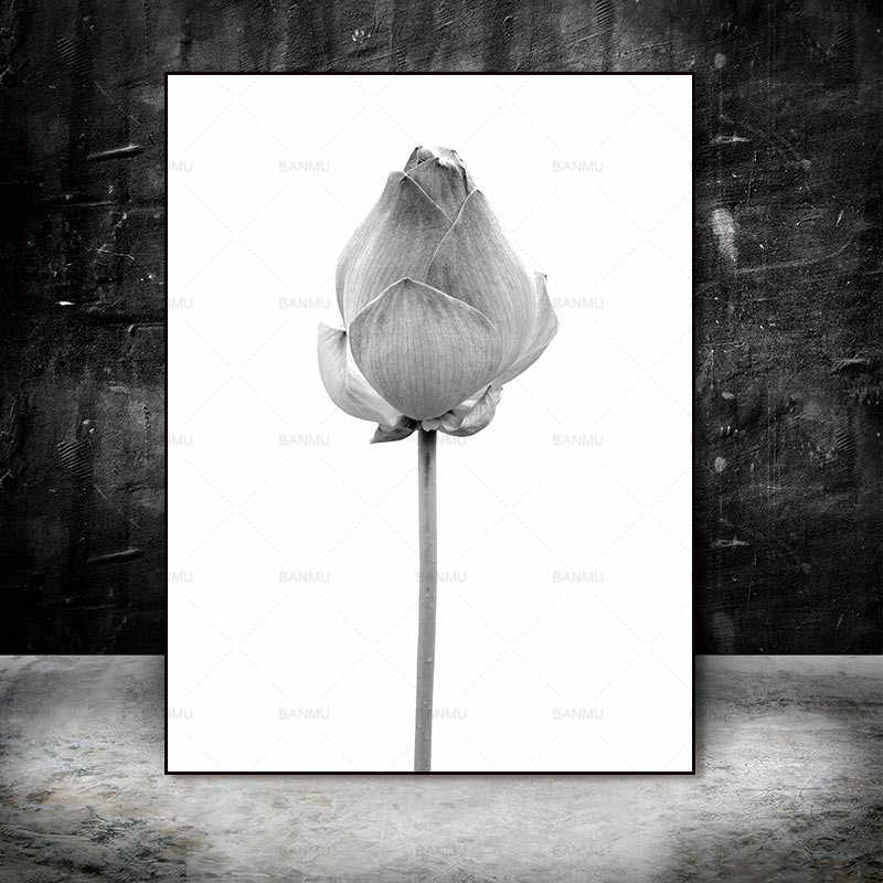 Настенный плакат, картина Картины Абстрактная живопись искусство печатает цветы на холсте украшение дома для гостиной живопись