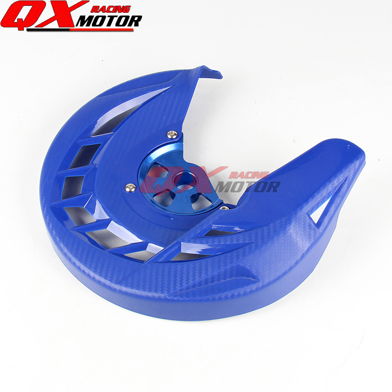20mm Motorcycle Front Brake Disk Protector Cover Protection Cover For YZ125 YZ250 YZF450 WRF250 WRF450  MX Motocross