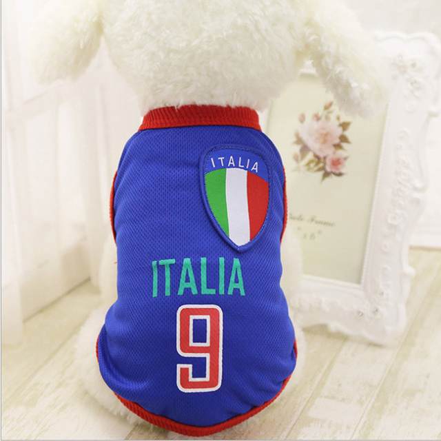 c1eb7a2a9 Dog Clothes For Small Medium Large Dogs Sports Dog Vest Cat Shirt ...