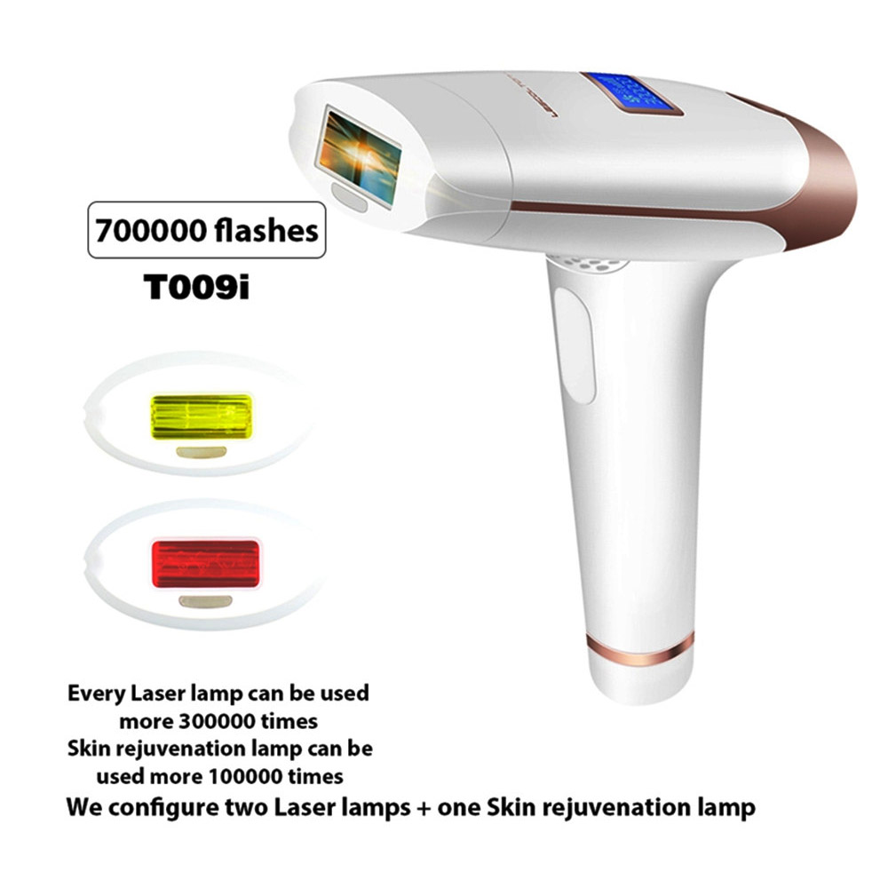 Lescolton 3 In 1 IPL Laser Hair Removal Machine Laser Epilator Hair Removal Permanent Bikini Home Electric depilador a laser цены
