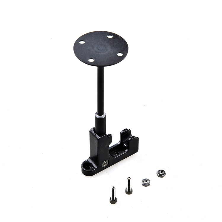 GPS Antenna Stand Mount Folding Seat Base Plastic Foldable Bracket Holder for DIY Drone FPV 250 Quadcopter Multirotor gps folding antenna mount holder metal for diy drone quadcopter multicopter black