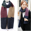 Woolen Scarf Knit Bandana Winter Foulard Desigual Luxury Snood Magic Brand Thick Ladies Scarves MF48512