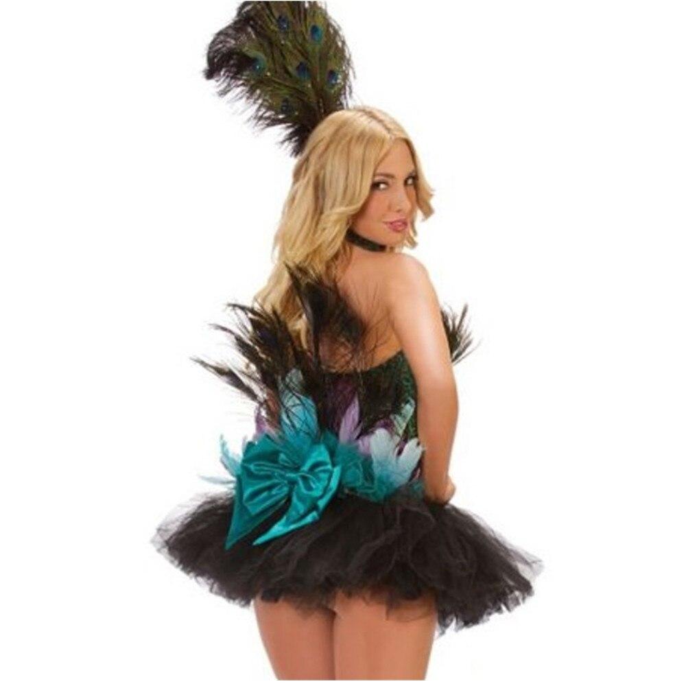 peacock dress 2015 halloween party queen social butterfly dance