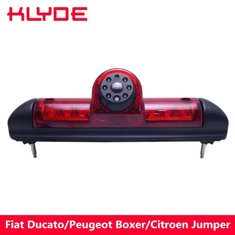 KLYDE HD Car High Qualit Brake Light Rear View Camera for Fiat Ducato 3 Generation 2006 2007-2015/Peugeot Boxer/Citroen Jumper цена