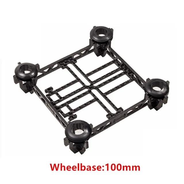 RJXHOBBY Micro Carbon Fiber Quadcopter Main Frame Kit Tiny QX100 90mm 100mm 118mm 128mm for Mini Micro Tiny Frame Carbon Fiber