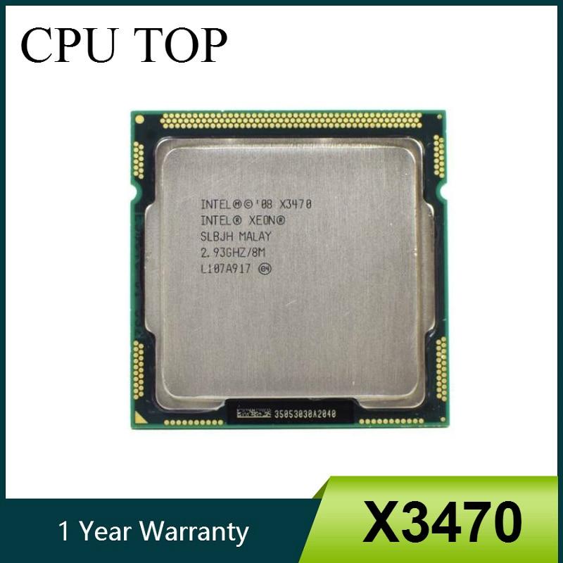intel Xeon X3470 Processor 8M Cache 2 93 GHz SLBJH LGA1156 CPU equal i7 870 working Innrech Market.com