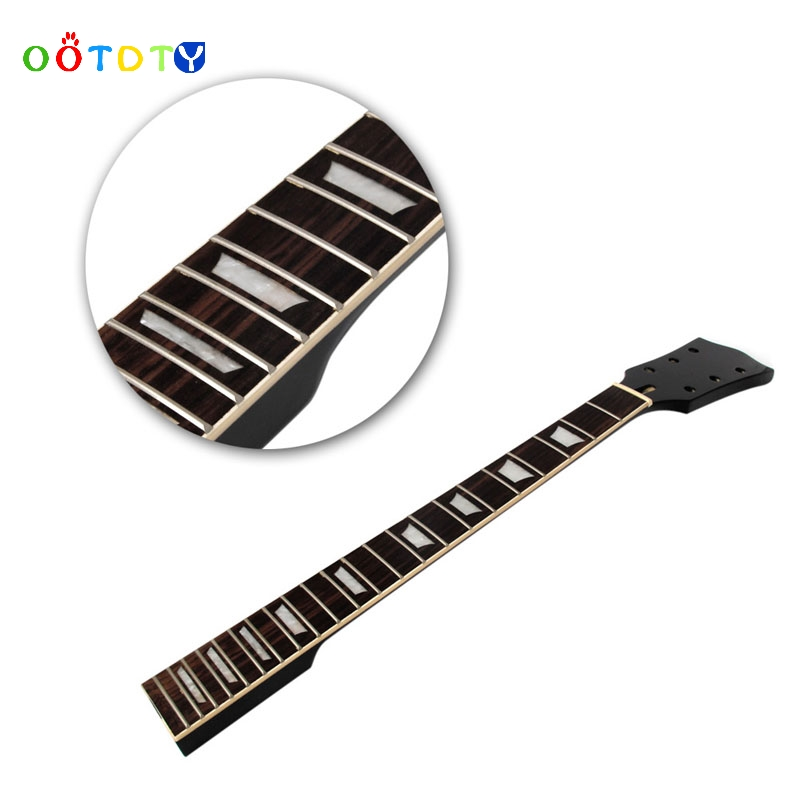 Guitare électrique cou pièces érable palissandre 22 Fret Jul10_35