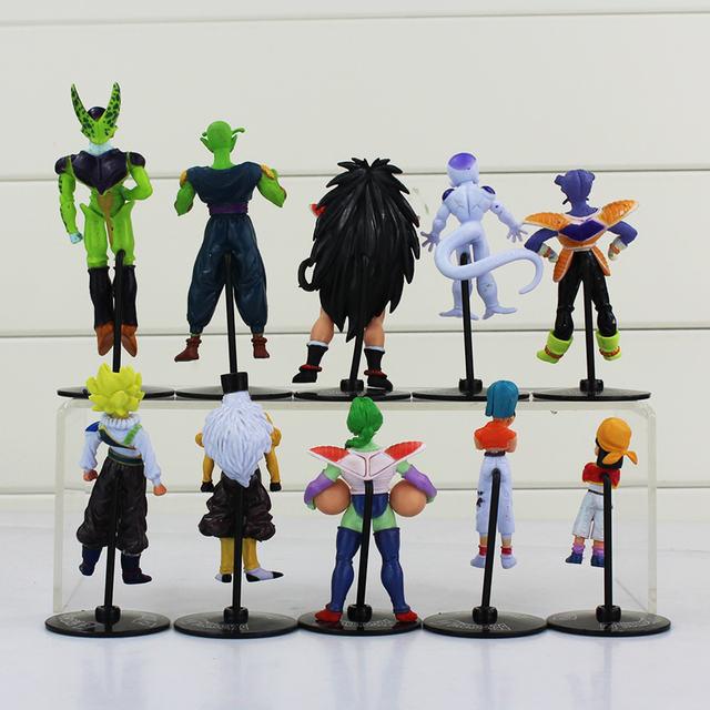 10Pcs Dragon Ball Z  Action Figure Model