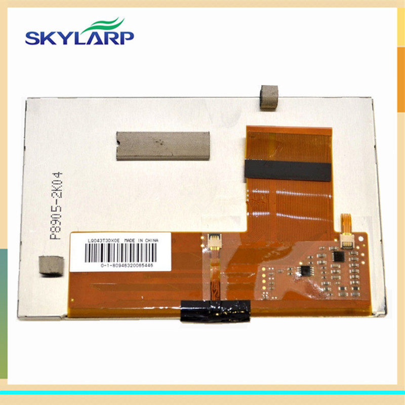 skylarpu 4.3 inch LCD screen for TomTom GO 620 GO 720 GO 920 LCD display Screen panel with Touch screen digitizer 4 3inch lq043t3dx0e lcd module for tomtom go 520 go 720 go 920 lcd screen display panel with touch screen digitizer replacement