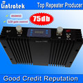75dbi Gain Repetidor 850MHz Cell Phone Booster With LCD Display CDMA Mobile Signal Repeater 850mhz GSM 850 Signal Amplifier S25