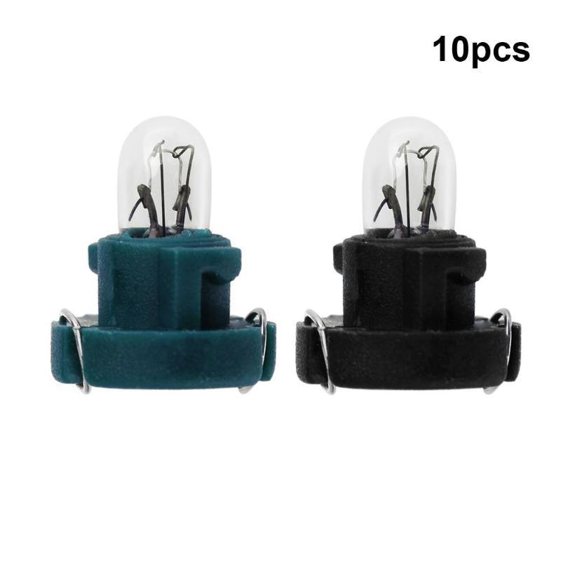 10 шт. T3 светодиодный 12 в 1,2 Вт автомобильный интерьерный инструмент светильник лампы приборной панели лампы для Honda Alpha автомобильные лампы о...
