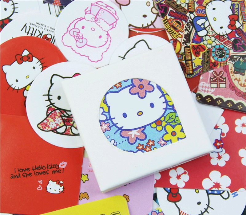 38 Pcs/Pack Kawaii Cute Japanese Cat Paper Sticker Decoration Diy Ablum Diary Scrapbooking Label Sticker Stationery