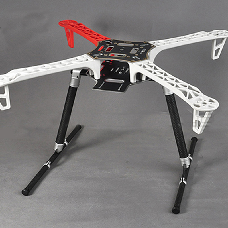 quadcopter frame kit tarot carbon fiber tube Landing Gear for FY450/FY550 drone landing gear professional drone kit tarot carbon tarot retractable landing gear foldable skid tarot 650 680pro quadcopter landing gear quadrocopter frame kit rc diy drone kit