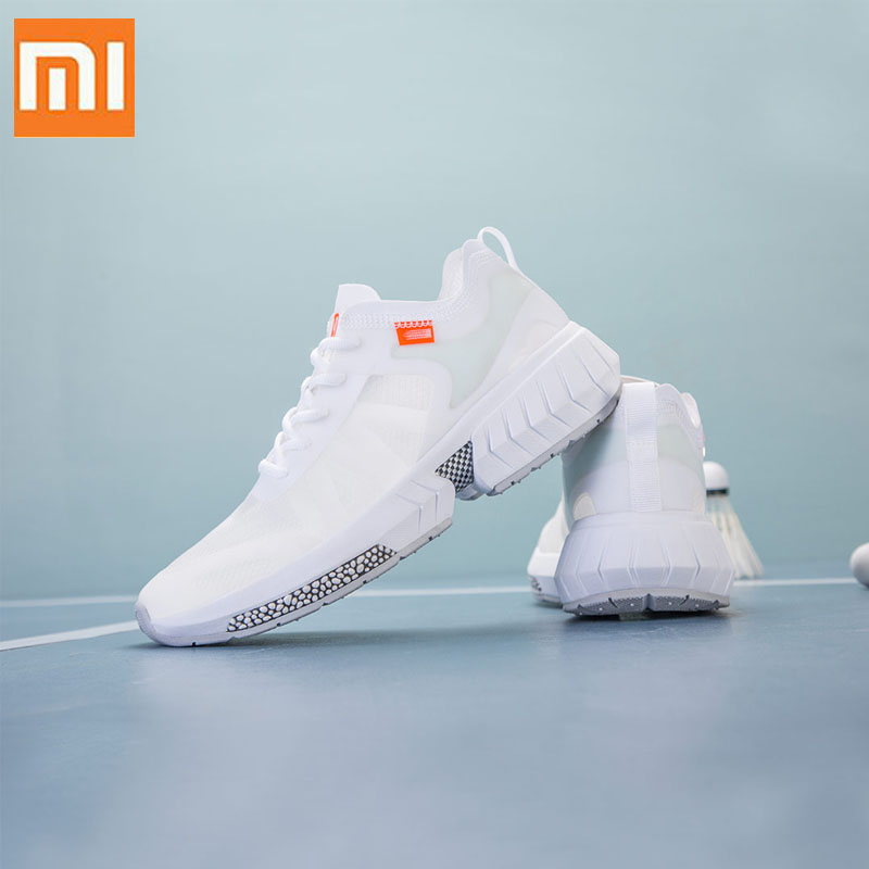 Original Xiaomi Mijia Men YUNCOO Ultralight Sneaker Transparent MONO Yarn Light Quick Drying Smart Breathable Running  Shoes