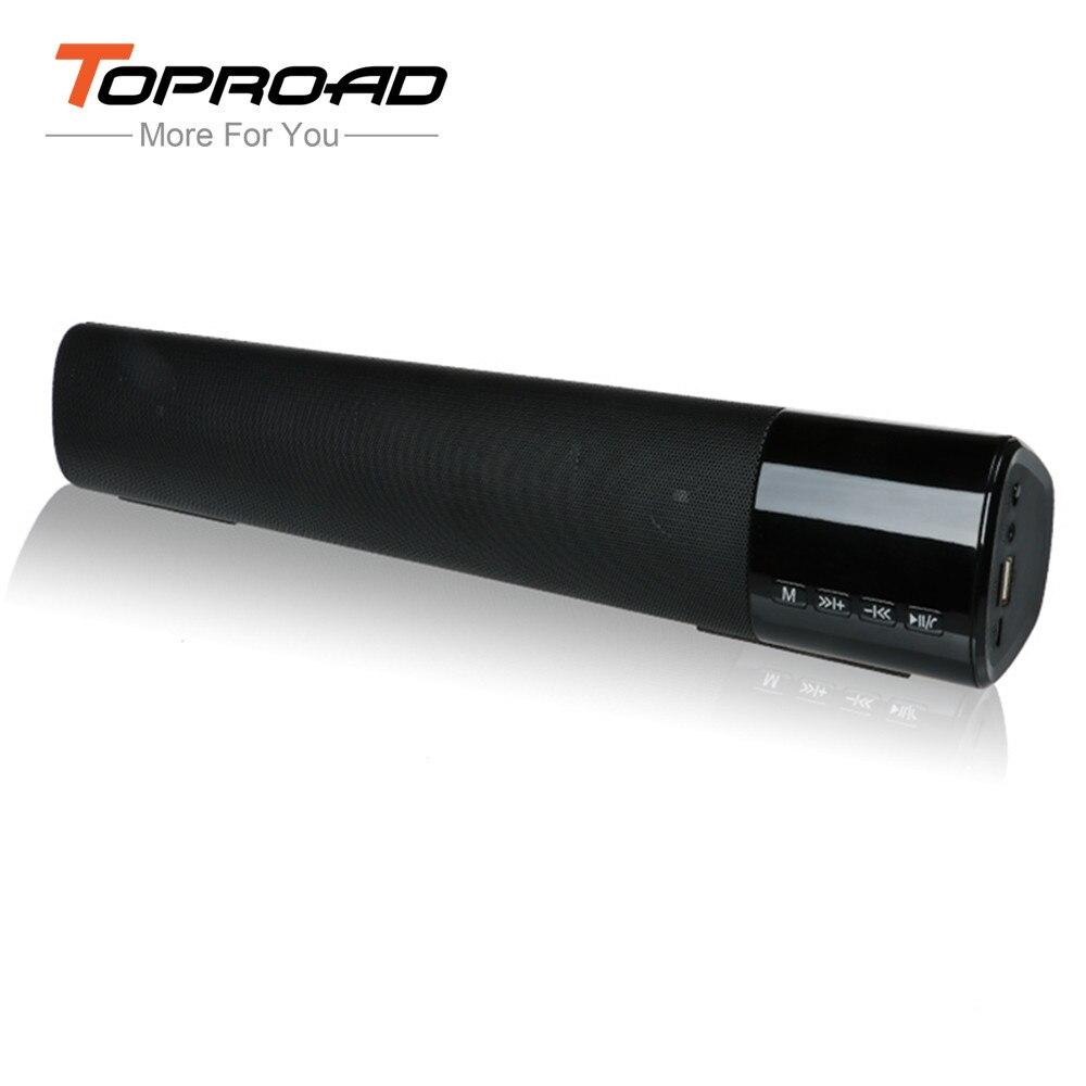 Flight Tracker Toproad Tragbare 10 W Drahtlose Bluetooth Lautsprecher Soundbar Super Bass Stereo Spalte Unterstützung Freisprechen Tf Fm Radio Aux Für Telefon Tv Wohltuend FüR Das Sperma