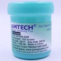 100 Original AMTECH NC 559 ASM 100g Lead Free Solder Flux Paste For SMT BGA Reballing