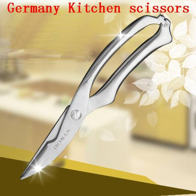 Multi-functional Stainless steel kitchen scissors shears chicken bone fish scissors kitchen Accessories gadgets cooking tools