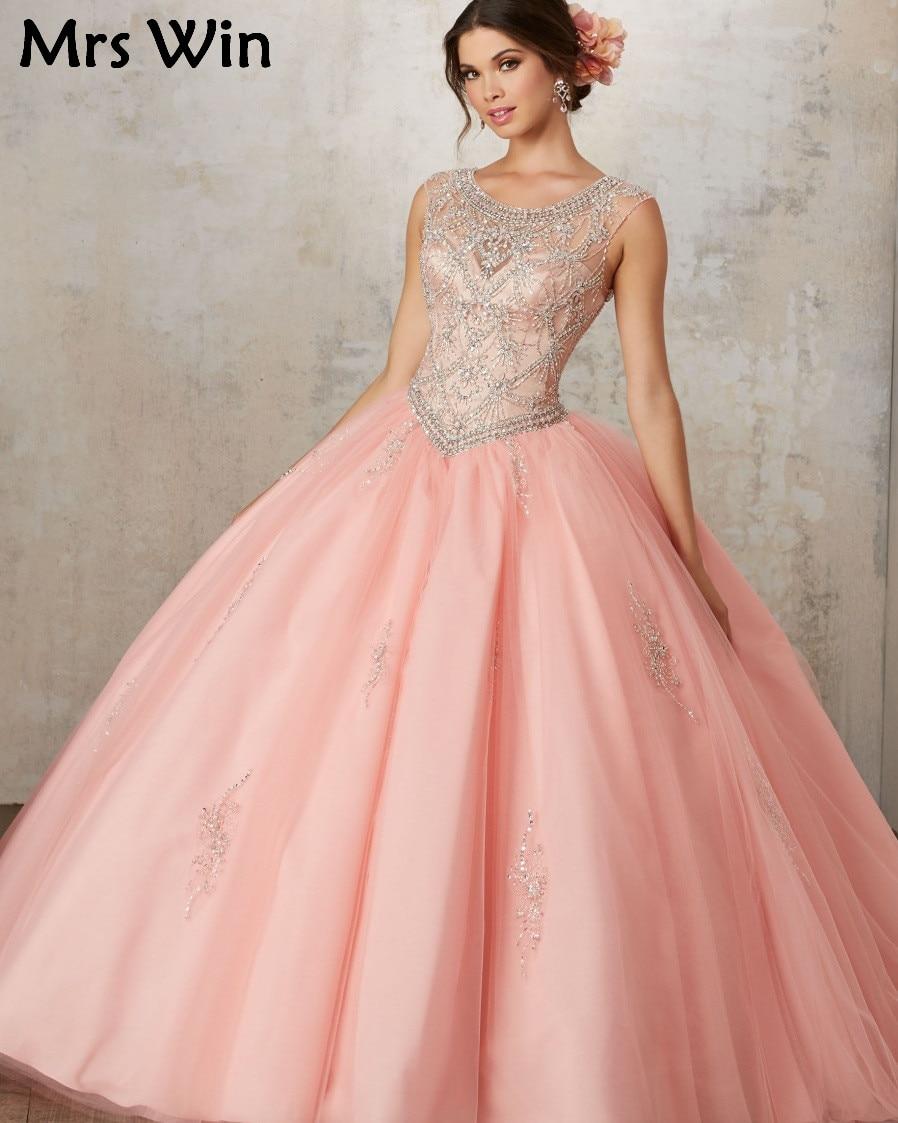 Vestidos De 15 Anos de Debutante Vestido Barato Puffy vestido de ...